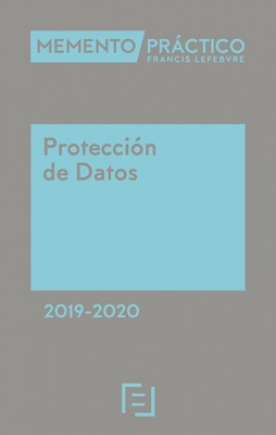 Memento Protección de Datos 2019-2020