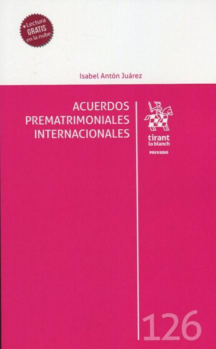 Acuerdos prematrimoniales internacionales