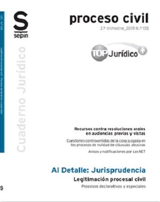 Legitimación procesal civil. Procesos declarativos y especiales