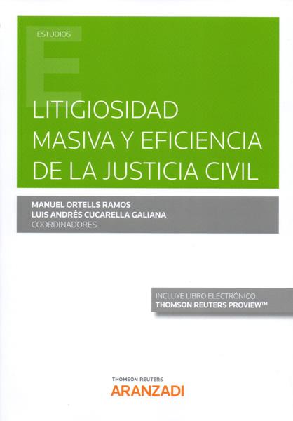 Litigiosidad masiva y eficiencia de la justicia civil