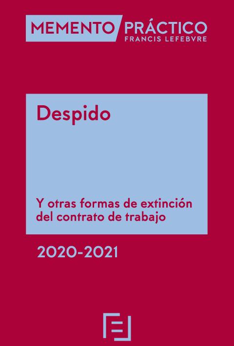 Memento Despido 2020-2021