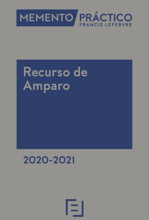 Memento Recurso de Amparo 2020-2021