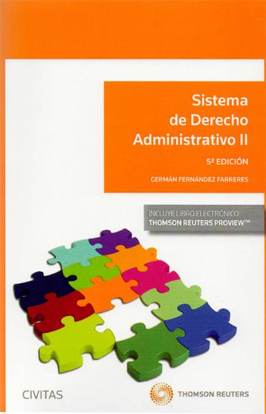Sistema de Derecho Administrativo. Tomo II
